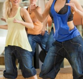 "Zumba-Training mit ""Dancing Star"""