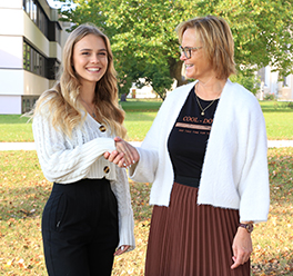 Vanessa Hofer zur neuen Schulsprecherin der BBS Baumgartenberg gewählt